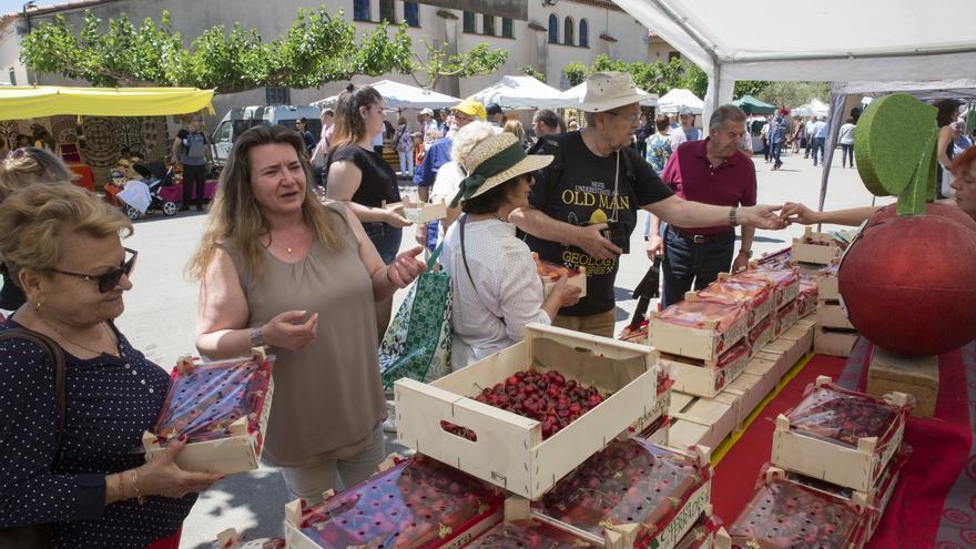 Terrades celebra la 24a Fira de la Cirera amb un producte excel·lent