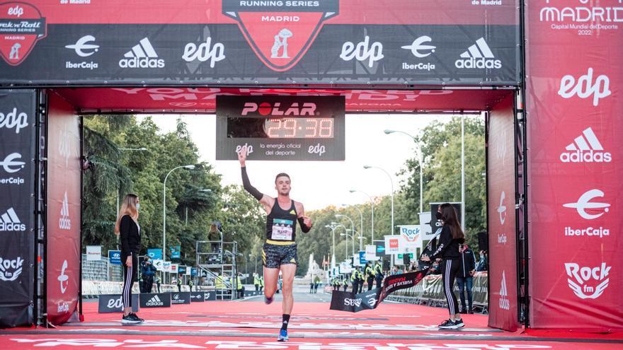 Toni Abadía y Carlos Mayo triunfan en Madrid