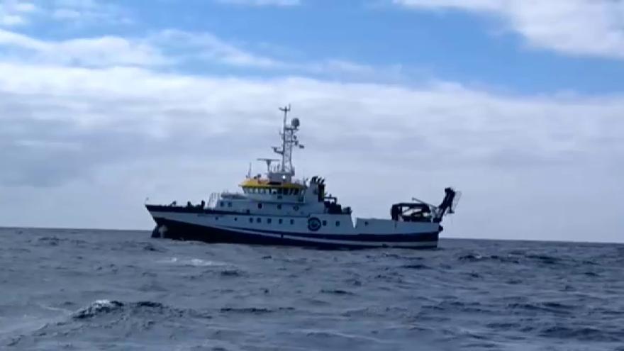 Arranca el rastreo submarino en Tenerife en busca de pistas de las niñas desaparecidas