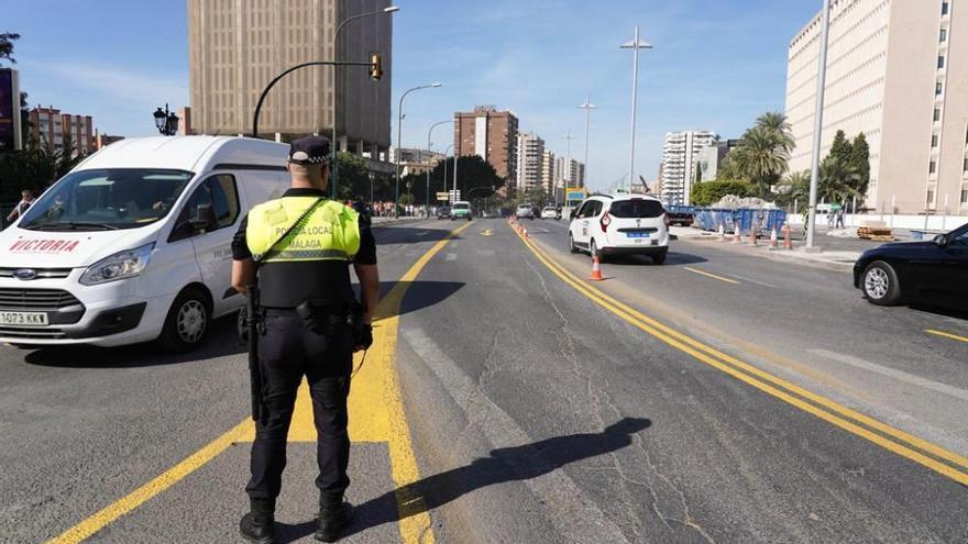 Abren al tráfico el paso desde el puente de la Esperanza hacia calle Prim