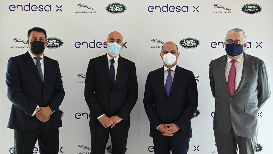 Endesa X y Jaguar Land Rover se unen para impulsar la movilidad eléctrica en España