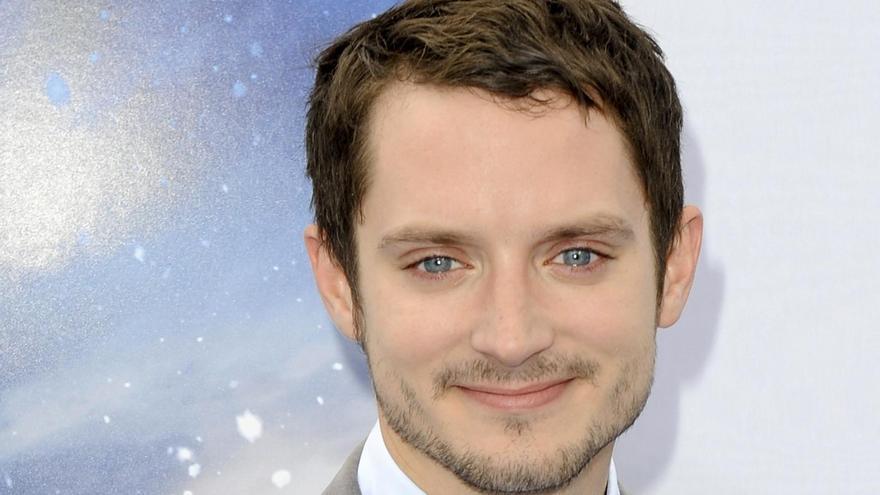 Elijah Wood interpretó a Frodo en el filme.