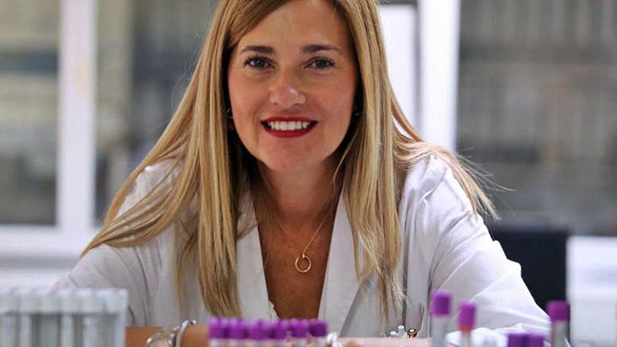 La investigadora zamorana María Victoria Mateos, en una foto de archivo.