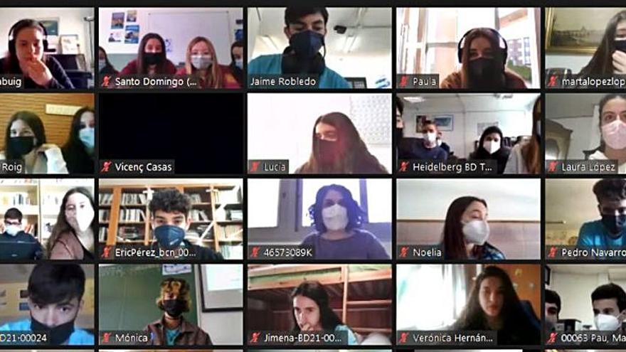Estudiantes de Ibiza participan en el Campus Virtual de EduCaixa