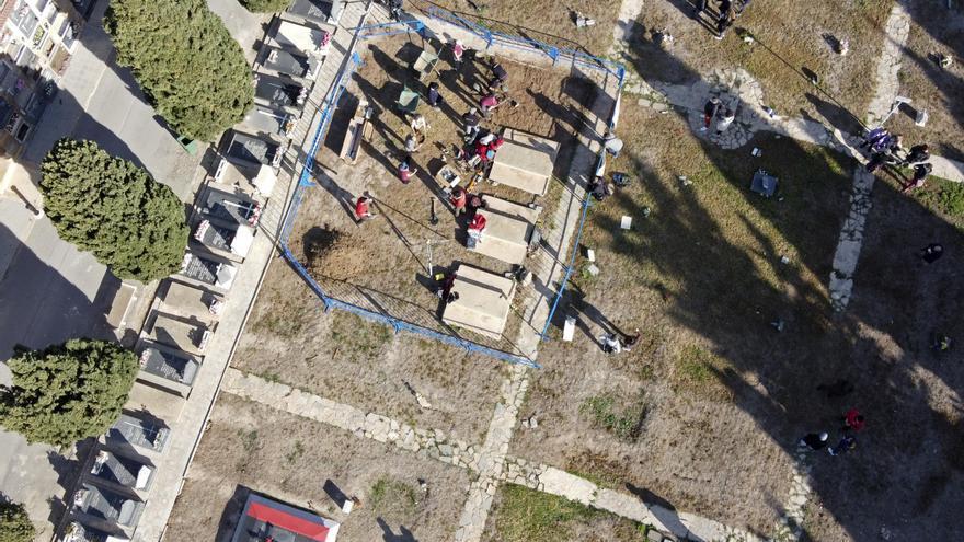 El cementerio de Alicante acoge la primera exhumación de represaliados del franquismo