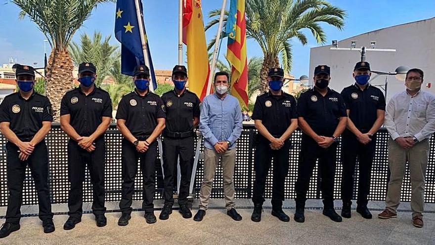 Crece la Policía Local de Canet