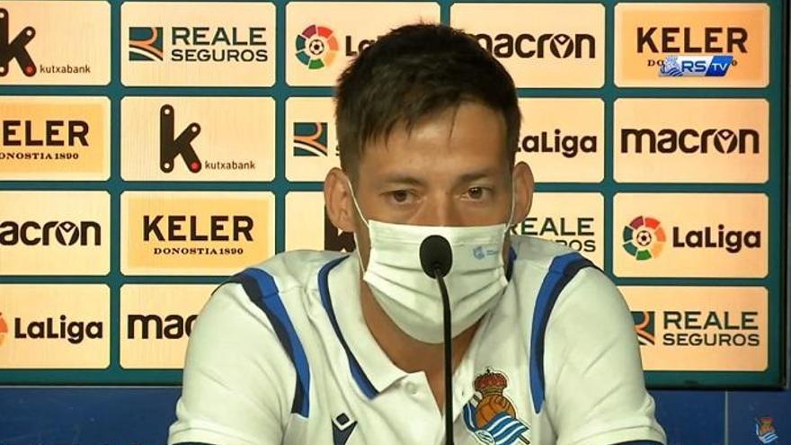 Así fue la rueda de prensa de la presentación de Silva con la Real Sociedad