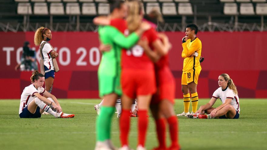 Canadá da la sorpresa ante Estados Unidos y alcanza la final de fútbol femenino