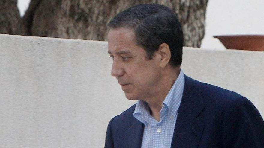 Eduardo Zaplana, ingresado