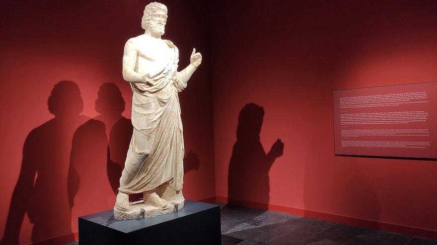 El MAC-Empúries de l'Escala reobre la sala dedicada a Asclepi