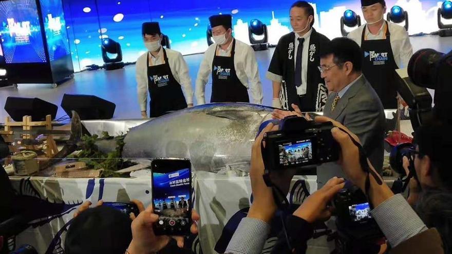 """Shanghái diseña la gran expansión de Albo: supermercados y todos los """"amazon"""" chinos"""