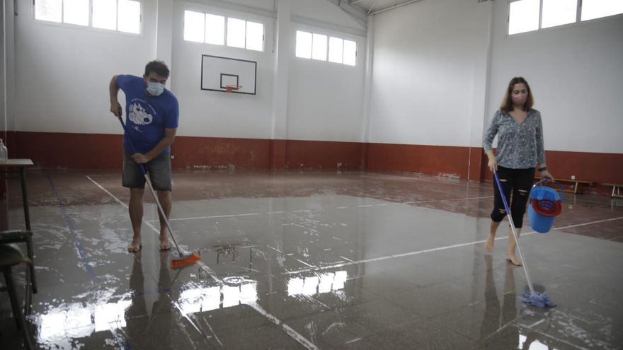 Santanyí recupera la normalidad tras las lluvias