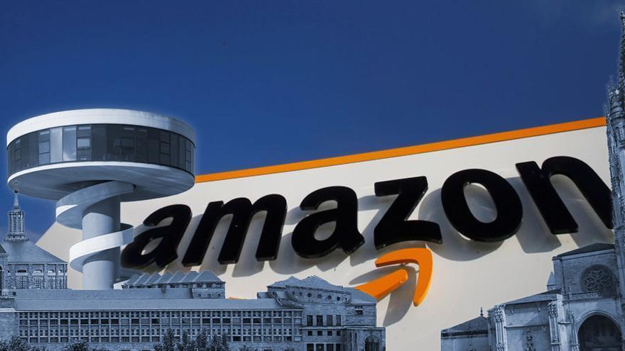 Será seis veces el Niemeyer o cuatro la Laboral: los impresionantes números de la nueva nave de Amazon en Asturias