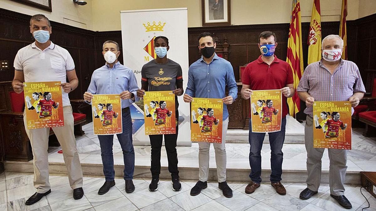 Nacho García, Javier Timón, Shandy Barbosa, Darío Moreno, Miguel Ángel Valero y Juanjo Batalller   DANIEL TORTAJADA