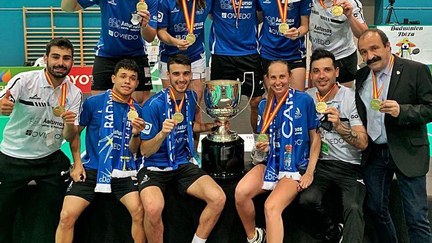 Remontada de campeón: segundo título de Liga del Oviedo Bádminton