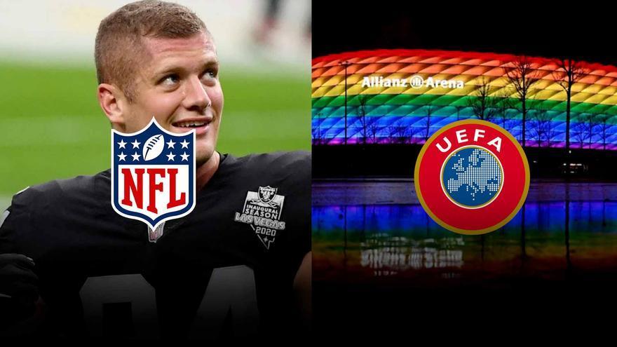 UEFA y NFL: dos reacciones opuestas a reivindicaciones LGTBI.