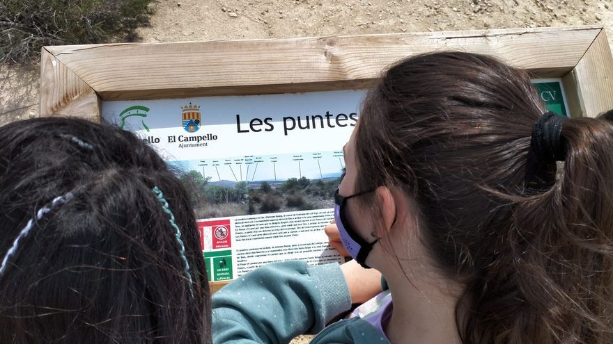 El Campello impulsa una ruta interpretativa por Les Puntes de Gosàlvez