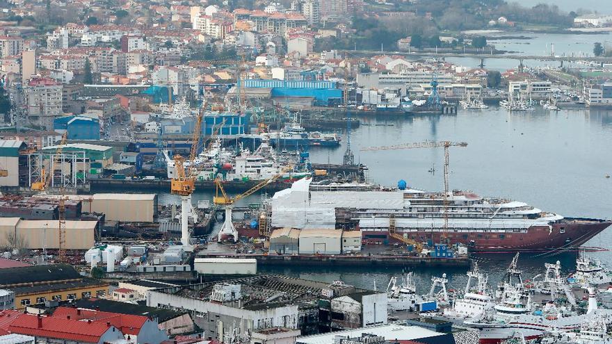 """Sangría en las auxiliares del naval gallego: """"Estamos por encima de los 1.000 parados en el último año"""""""