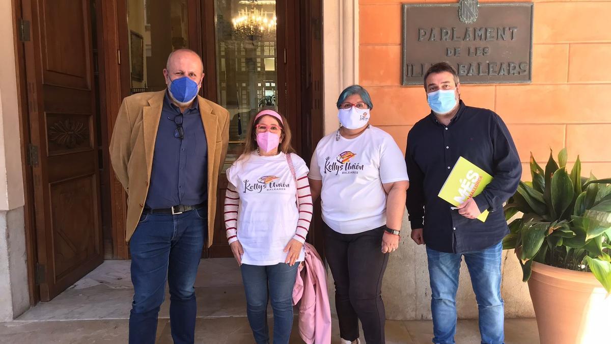 BALEARES.-MÉS pide al Gobierno central reconocer como enfermedades profesionales las que padecen las 'kellys'