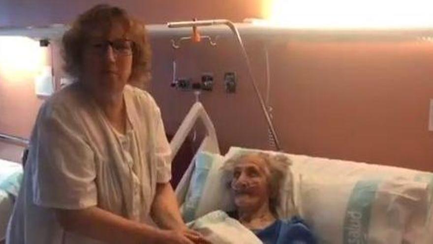 Una anciana de 101 años de Huesca supera el coronavirus
