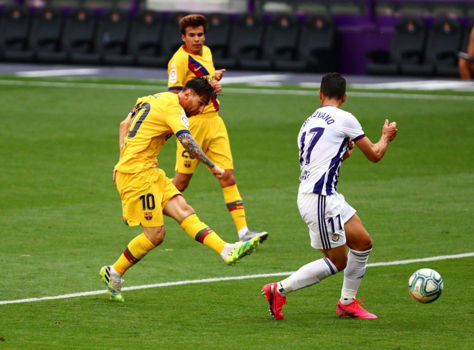 La Liga Santander - Real Valladolid v FC Barcelona