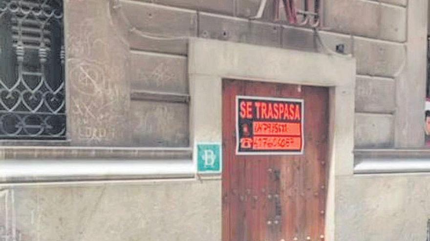 Palmario | Can Àngel de Sant Jaume cuelga el cartel de se traspasa