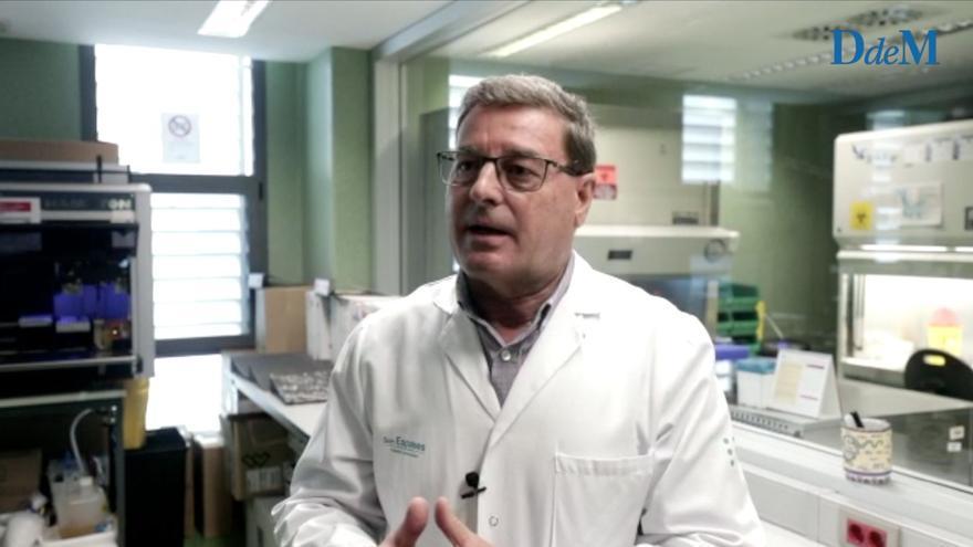 """Jordi Reina, jefe de Virología de Son Espases: """"Lo peor de la pandemia ha pasado"""""""