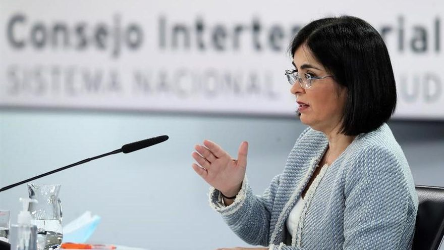 Darias recepciona en Mérida la partida de vacunas contra el covid