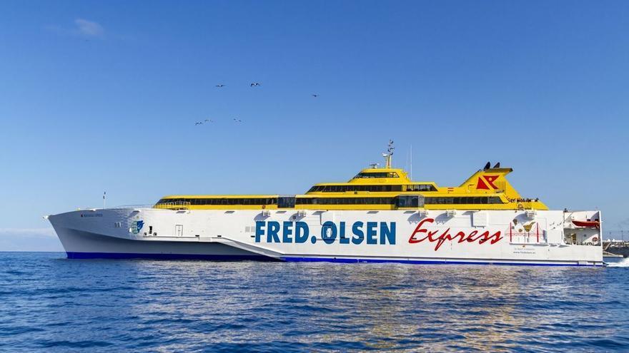 Fred.Olsen dona 250.000 euros a los damnificados en La Palma