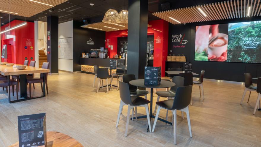 Banco Santander inaugura en Valencia su primer Work Café en la Comunidad Valenciana
