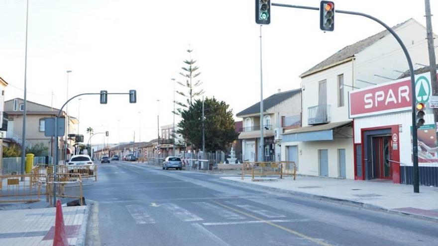 El PP denuncia que las obras de El Albujón llevan dos meses paralizadas