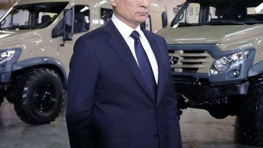 Putin anuncia que se presentará a la reelección en los comicios de 2018