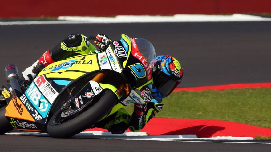 Navarro saldrá segundo en Silverstone