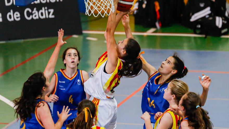 Las chicas de Aragón se meten en la final del Campeonato de España de minibasket