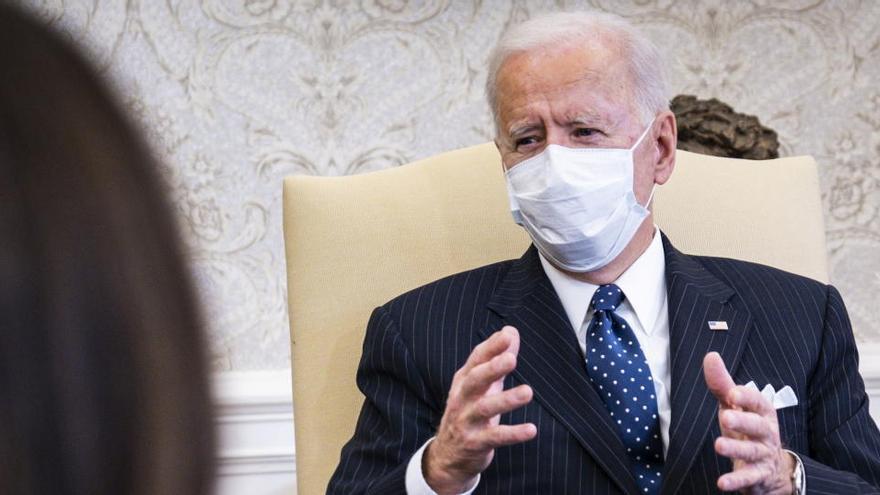 Biden asegura que no verá el 'impeachment' a Trump