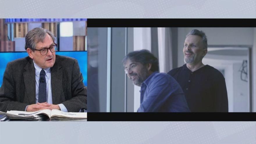 """Marhuenda dice que Miguel Bosé es """"un deshecho humano"""""""