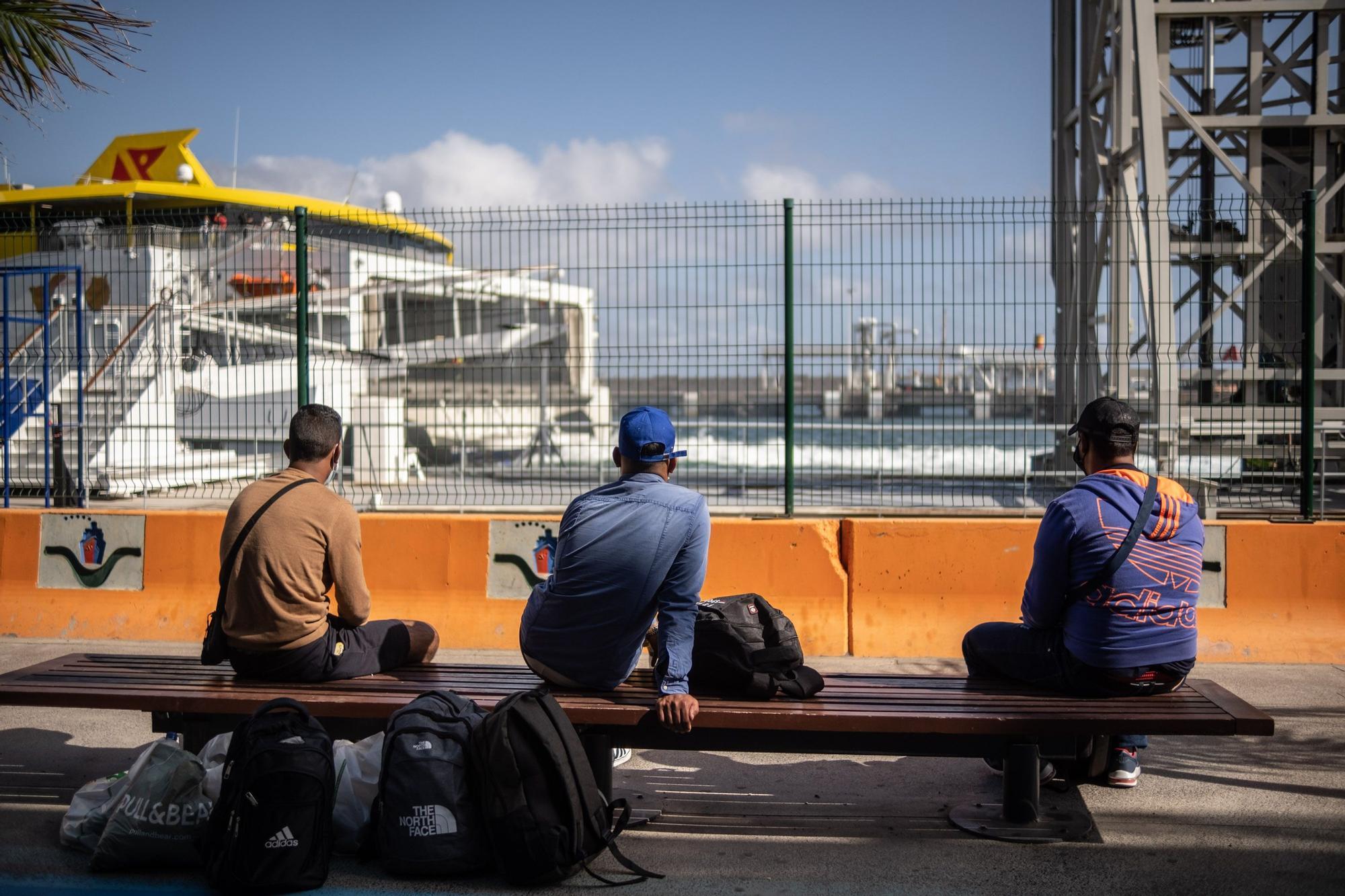 Migrantes en Santa Cruz de Tenerife
