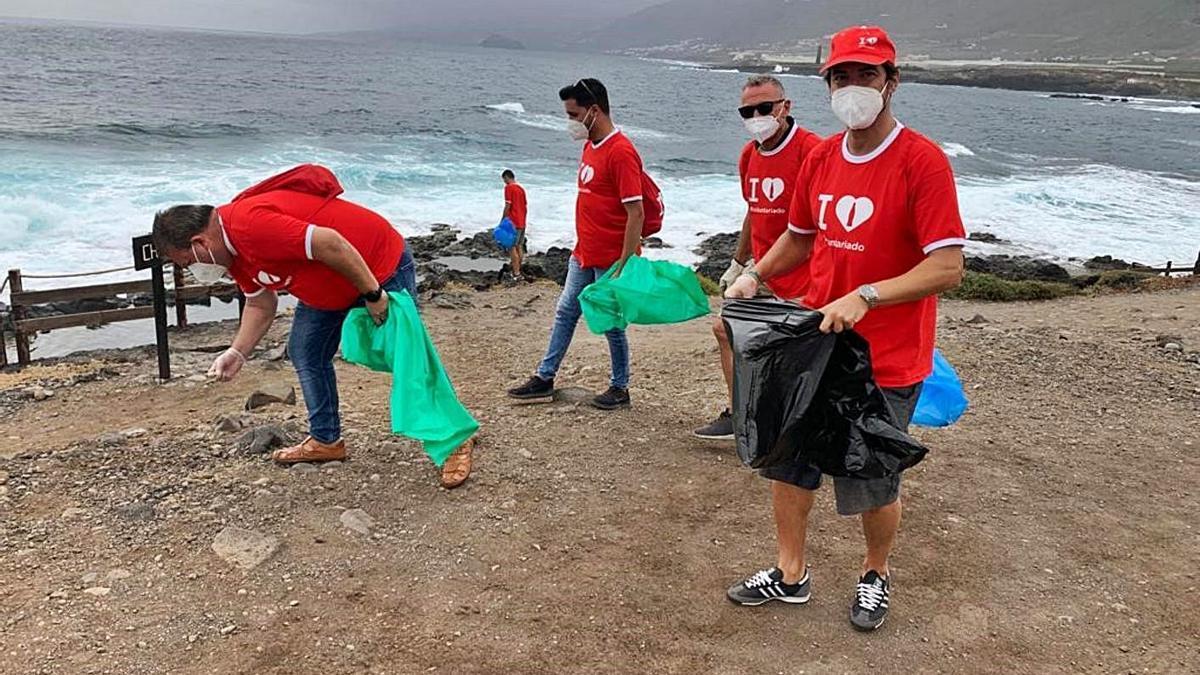 Voluntarios de Coca-Cola Europacific Partners.