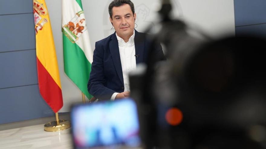 Moreno descarta que la Junta aplique nuevas restricciones en Andalucía antes de Nochebuena
