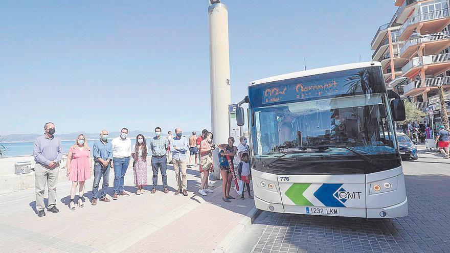 La EMT estrena la primera línea metropolitana que une Palma con s'Arenal de Llucmajor