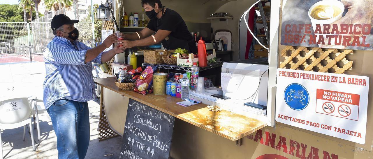 Food truck Canarian Street Food.
