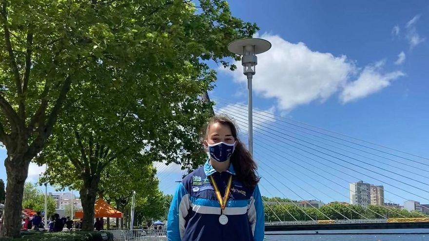 """Andrea Rodríguez, campeona de España juvenil de maratón: """"Tengo ganas de participar en mi primera competición internacional con la selección """""""