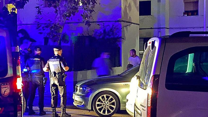 Alertan de disparos en Nou Llevant al intentar robar un hombre en una casa