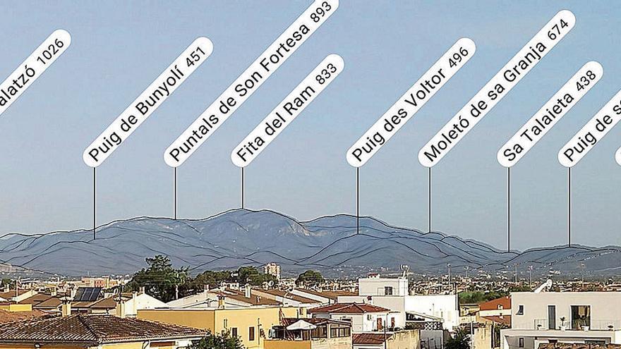 So identifizieren Sie die Gipfel der Tramuntana auf Mallorca
