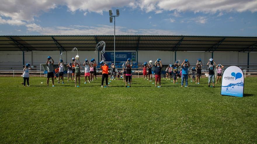 """La campaña """"Mójate por la Esclerosis Múltiple"""", de nuevo en Zamora"""