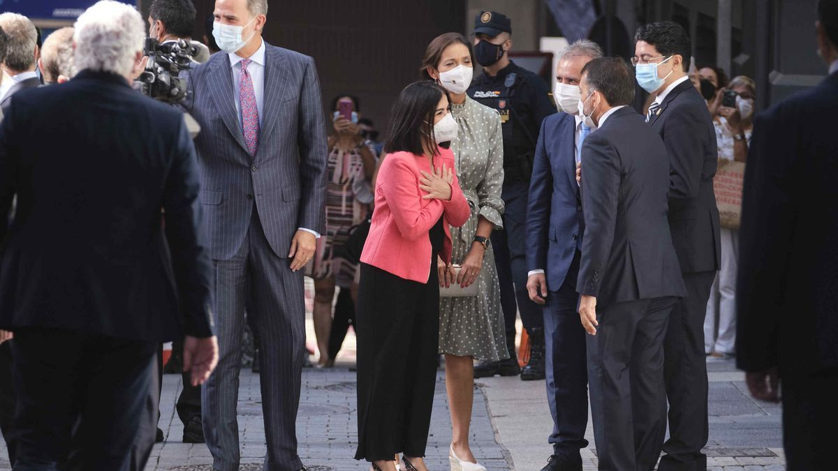 El Rey visita Canarias