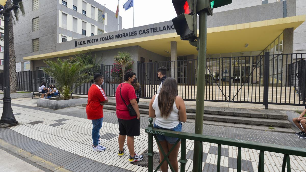 El alumnado isleño de Bachillerato regresa a las aulas