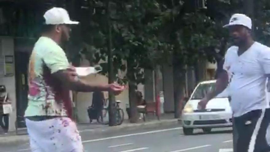 Así fue el acuchillamiento mortal de un joven en Valencia