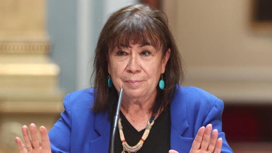 Cristina Narbona, infectada de COVID con síntomas leves