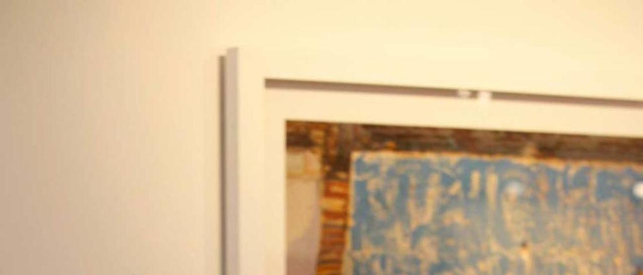 Rosa Muñoz, ayer, en la galería gijonesa Vigil-Escalera.